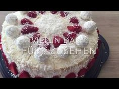 Thermomix® TM 5 Erdbeer- Raffaello- Torte - YouTube