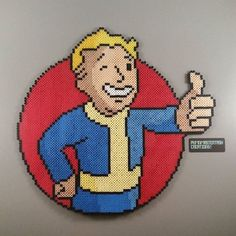 Fallout perler beads by  pkmnmastertash