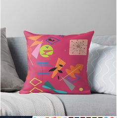 Inspired by Kandinsky. Pillow available in my shop @ http://rdbl.co/2vc04F8