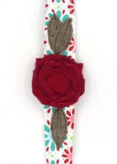 Vintage Rose Wrap Claire Red $16
