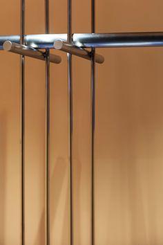 STUDIO UNRAVEL(스튜디오언라벨) Retail Interior, Interior And Exterior, Diy Clothes Rack, Joinery Details, Cabinet Door Handles, Bookshelf Design, Commercial Design, Office Interiors, Industrial Furniture
