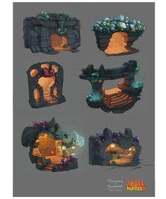 Concept Arts do seriado Trollhunters, da DreamWorks, por Djahal | THECAB - The Concept Art Blog