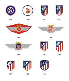12 razones para entender y aceptar el nuevo logo del Atlético de Madrid | Brandemia_