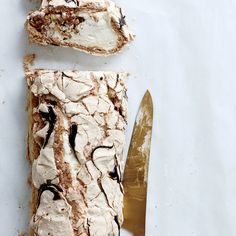 This best-ever meringue roulade is crisp, creamy and utterly delicious ...