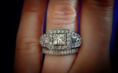 1 carat Diamond Engagement Ring. Offering flexible by Mymink, $1100.00