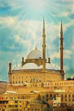 Salah El Din Citadel, Mohamed Ali Mosque, Cairo, Egypt