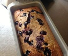 Recipe Banana Blueberry Bread (Gluten/Lactose/refined Sugar Free) by Danielle Scott - Recipe of category Breads & rolls