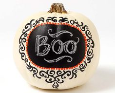 Craft Painting - Label Chalkboard Pumpkin