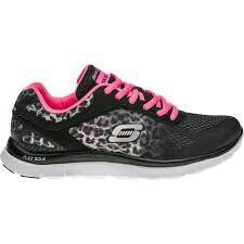 Sketchers memory foam; would be awesome for work and they're cute too!