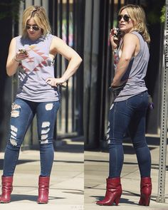 Hilary Duff out shopping in LA (May 15th, 2014)