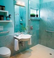 Best for: Baths on a tight budget or short project timetable.  Pros: Affordable; available in prefab slabs at home centers; stain and scratch resistant; huge variety of colors, finishes, and textures.  Cons: Can delaminate over time; the look can be downscale; can't accommodate undermount sinks.  Price: $