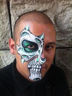 Skull Eyes by RonnieMena