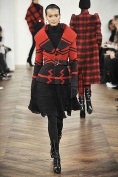 Ralph Lauren Fall 2008 Ready-to-Wear Fashion Show - Liya Kebede