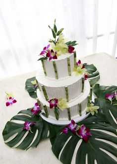 Best ideas of tropical wedding cake, so fresh and beautiful (9)
