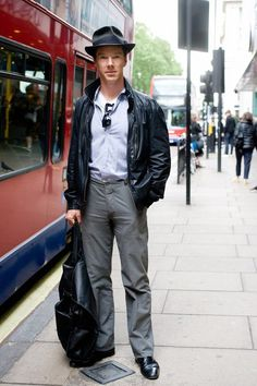 Benedict Cumberbatch in a fedora. you are welcome.