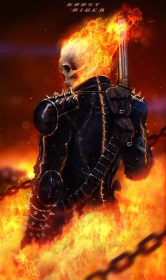 Ghost Rider by johnsonting.deviantart.com on @deviantART