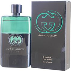 Gucci Guilty Black Pour Homme By Gucci For Men on sale at FragranceNet.com
