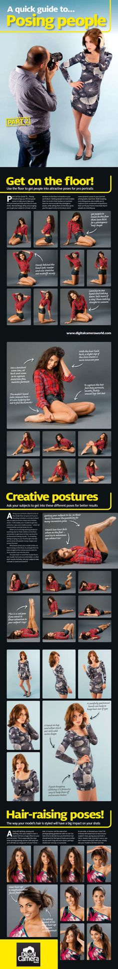 40 More Portrait Photography Ideas | Infographic