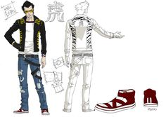 No More Heroes - Travis Touchdown Character Art