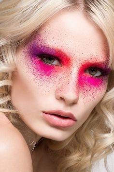Concept makeup- colorful