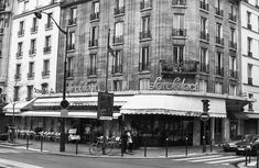 "Chapter 4 - ""'Café Select,' I told the driver. ""Boulevard Montparnasse'"" (35). On the way there, I told Brett it was good to see each other. I asked her if she wanted to see me, and she told me, ""'I have to'"" (35). I didn't say anything. We arrived, I paid the fare in exact change and walked into this quaint cafe on the corner."