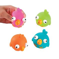 Spring Birds with Pop-Out Eyes - OrientalTrading.com