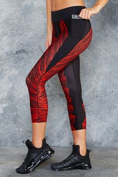 Blood Wing Battle Pants – PRESALE ($109AUD) by BlackMilk Clothing
