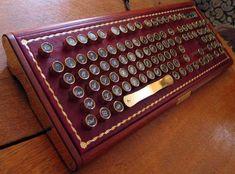 KaHool! Buccaneer Steampunk Computer Keyboard.