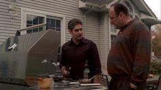 The Sopranos: Season 6, Episode 17 Walk Like a Man (6 May 2007).   James Gandolfini , Tony Soprano,   Michael Imperioli , Christopher Moltisanti