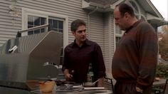 The Sopranos: Season 6, Episode 17 Walk Like a Man (6 May 2007).   James Gandolfini , Tony Soprano,   Michael Imperioli , Christopher Moltisanti