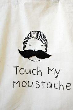 Touch my moustache #party #partytheme