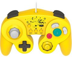 PikaPika Yellow Gamecube controller. Only in Japan.
