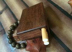 Wooden senior gift birthday gift box, name card box cigarette case jewelry box