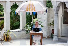 Production designer Alan MacDonald created an authentic look on the set of The Best Exotic Marigold Hotel.