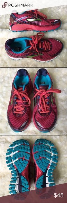 Sale!  Brooks GTS Women's Running Shoes Like new Brooks GTS Running shoe. In great condition. Provides great cushioning and stability for running. Brooks Shoes Athletic Shoes