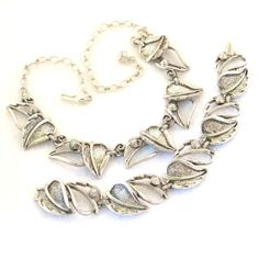 Vintage 1960s Silver Sarah Coventry Set by RebeccasVintageSalon, $30.00
