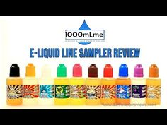 A review of the entire line of 10 e-liquid flavors from 1000ml.me. Specializing in selling affordable 1000ml bottles of e-liquid, their sampler pack is the way to try all the flavors. More info/purchase: http://www.darthvaporreviews.com/1000ml-me-E-Liquid-Sampler-Pack-Review.html #vape #vaping #vapelife #eliquid #ejuice #vapereviews