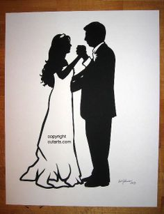 Silhouette Pictures by Master Silhouette Artist Karl Johnson: Custom Silhouette Pictures