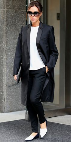 From Victoria Beckham's longline blazer to Olivia Palermo's floral pencil skirt, here's what you should wear to work for the week ahead.