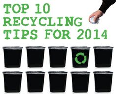 Recycling Tips for 2014
