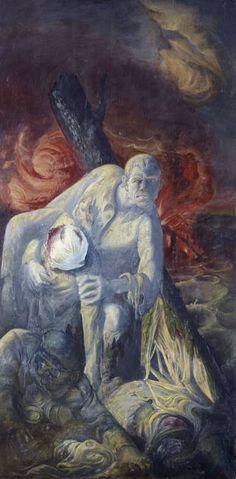 Otto Dix - Der Krieg (Triptychon) III