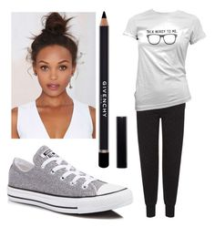 """""""Untitled #68"""" by riasoccer on Polyvore featuring Givenchy, Topshop and Converse"""