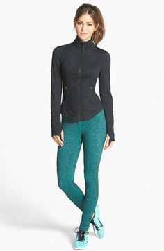 Zella Jacket & Leggings available at #Nordstrom -- I bought both of these!