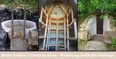 Root Cellar Construction - Building with Earthbags