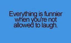 Sooooooo  true!!!!!!! Forbidden hilarity is the BEST!!!