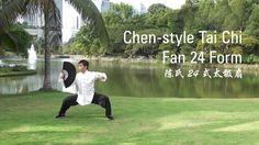 Chen-Style Tai Chi Fan 24 Form (陈氏24式太极扇)