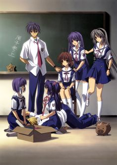 Clannad. This series made me cry harder & more often than anything else I've ever watched. I was kind of embarrassed to find out later that it's based on a video game.