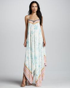 Wild Devine Maxi Dress by Free People at Neiman Marcus.