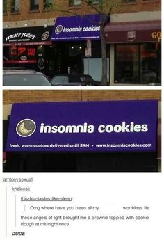 Waaaaaaat. Not only would I be poor, I would also be fat if this was anywhere near me. XD