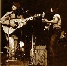 Gram Parsons and Emmylou Harris
